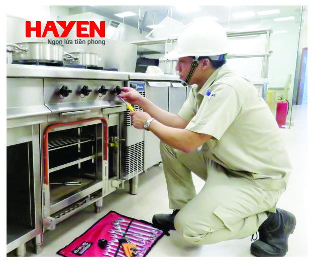 Sửa chữa van bếp gas công nghiệp nhanh chóng, hiệu quả