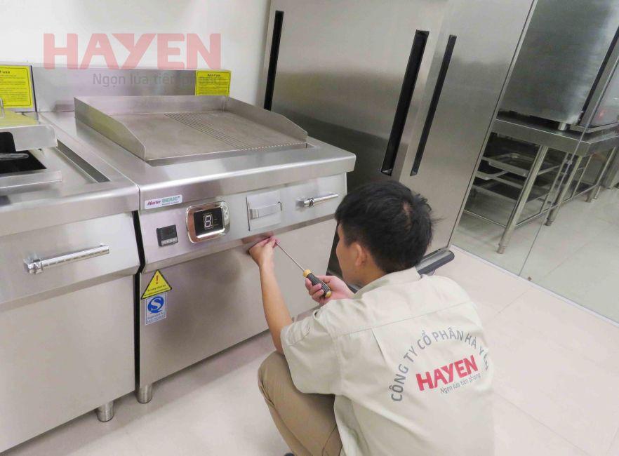 Công ty CP Hà Yến chuyên sửa chữa bếp từ công nghiệp không lên nguồn