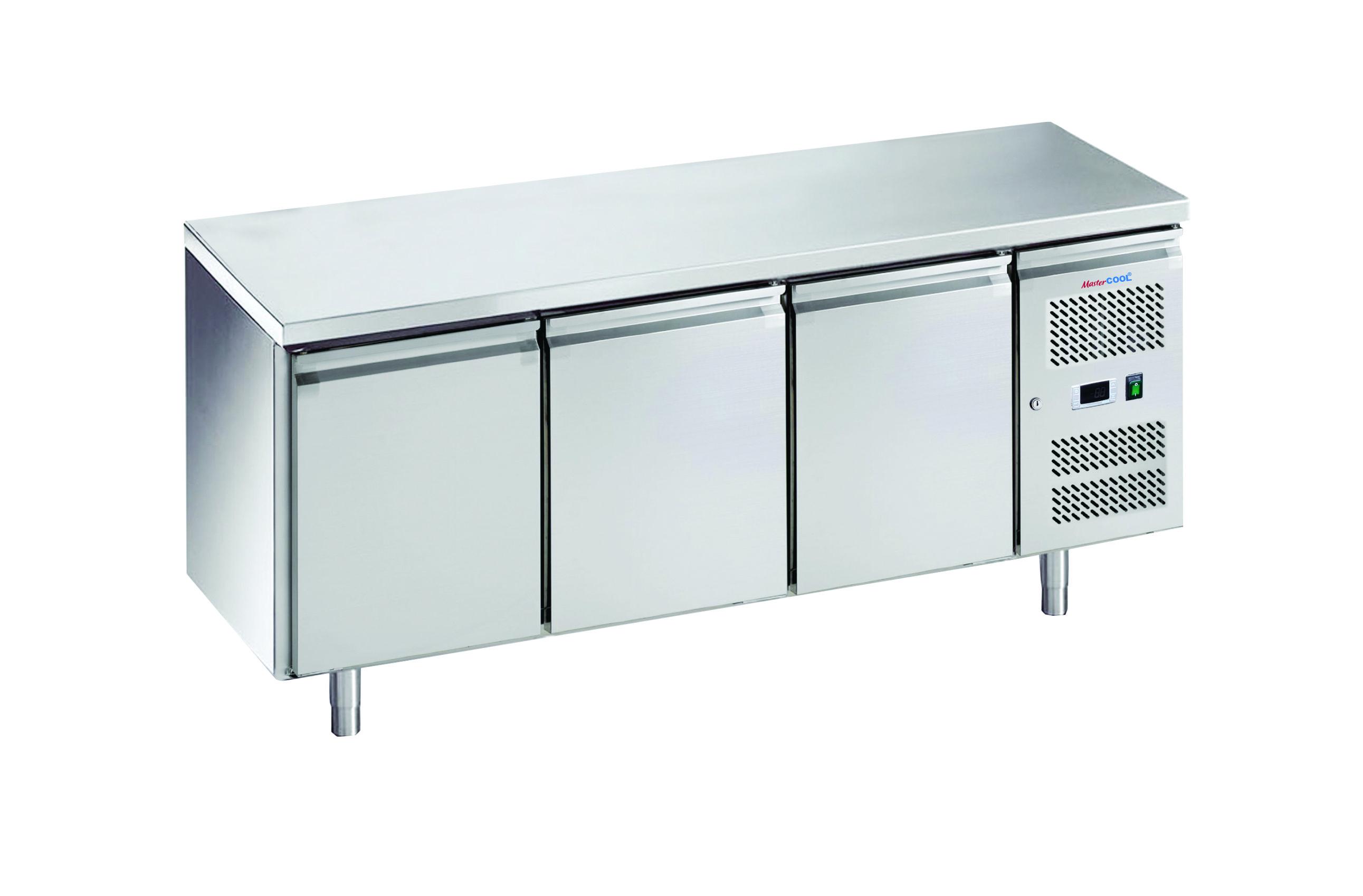 Bàn lạnh 3 cánh Inox - 3 door counter chiller