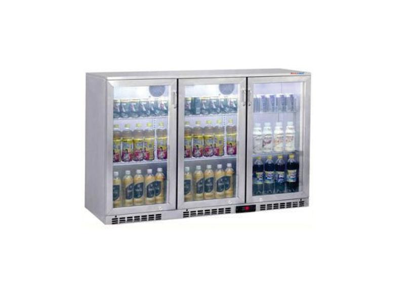 Tủ quầy bar 3 cánh - 3 swing door Bottle Cooler