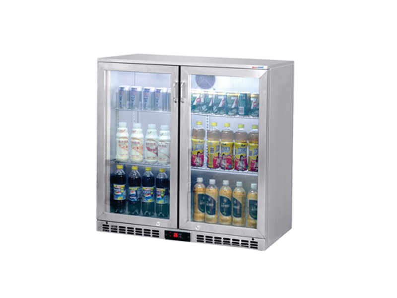 Tủ quầy bar 2 cánh - 2 swing door Bottle Cooler