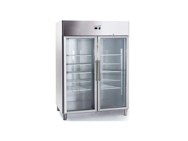 Tủ lạnh 2 cánh kính - 2 full glass door chiller